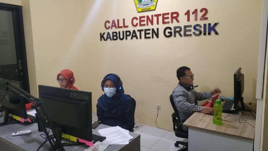 Call Center 112, Optimalkan Layanan Kedaruratan dan COVID-19 Gresik