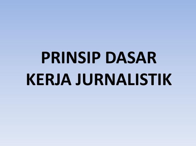 Download Materi Jurnalisme untuk Media Online