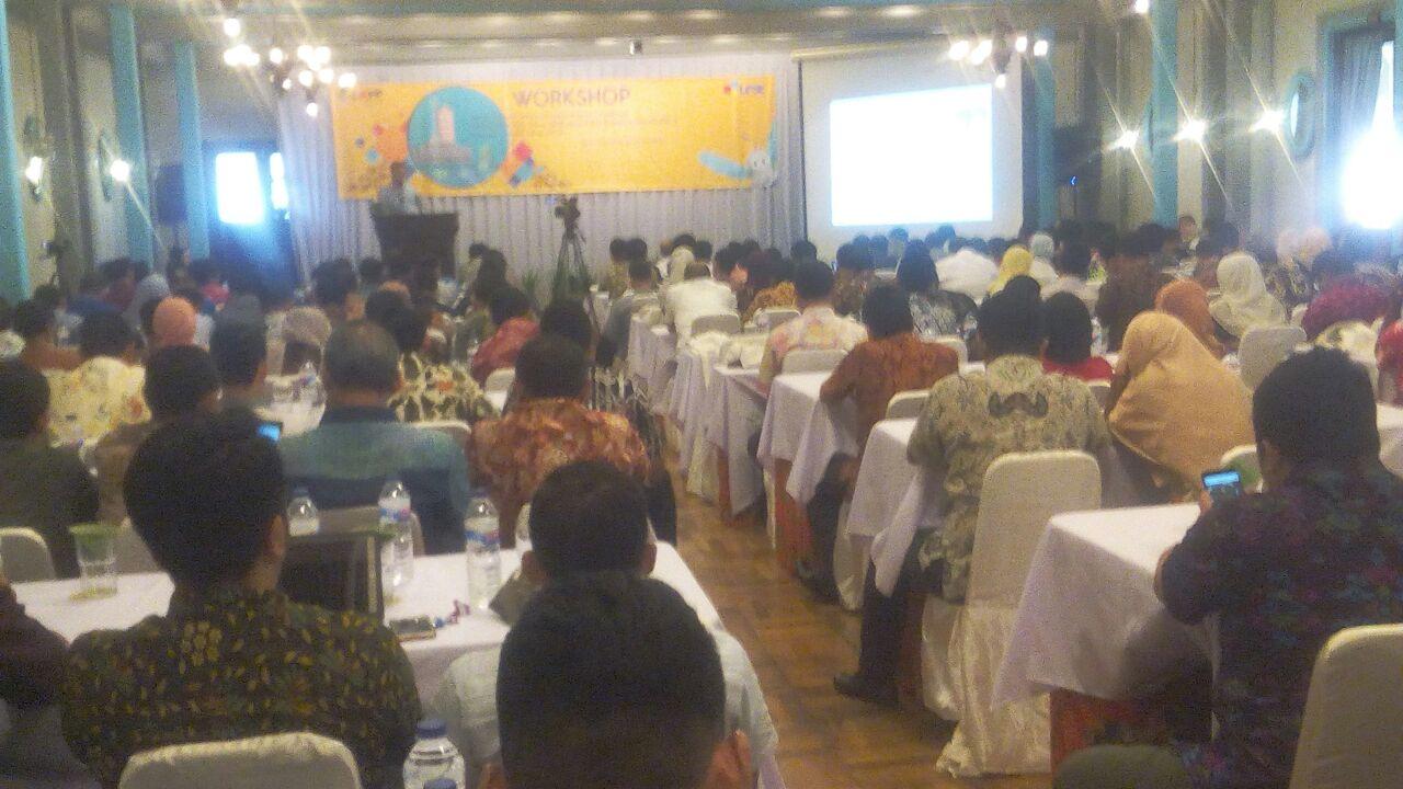 LPSE Gresik Hadiri Bimtek Standarisasi LPSE: 2014, Aplikasi SPSE 4.2 Regional I Jawa